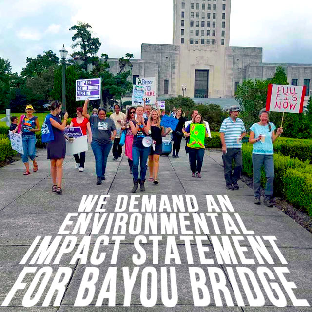 "Press Release: Louisiana Department of Environmental Quality Told to ""Do Your Job"" as Communities Rally to Stop Bayou Bridge Pipeline"