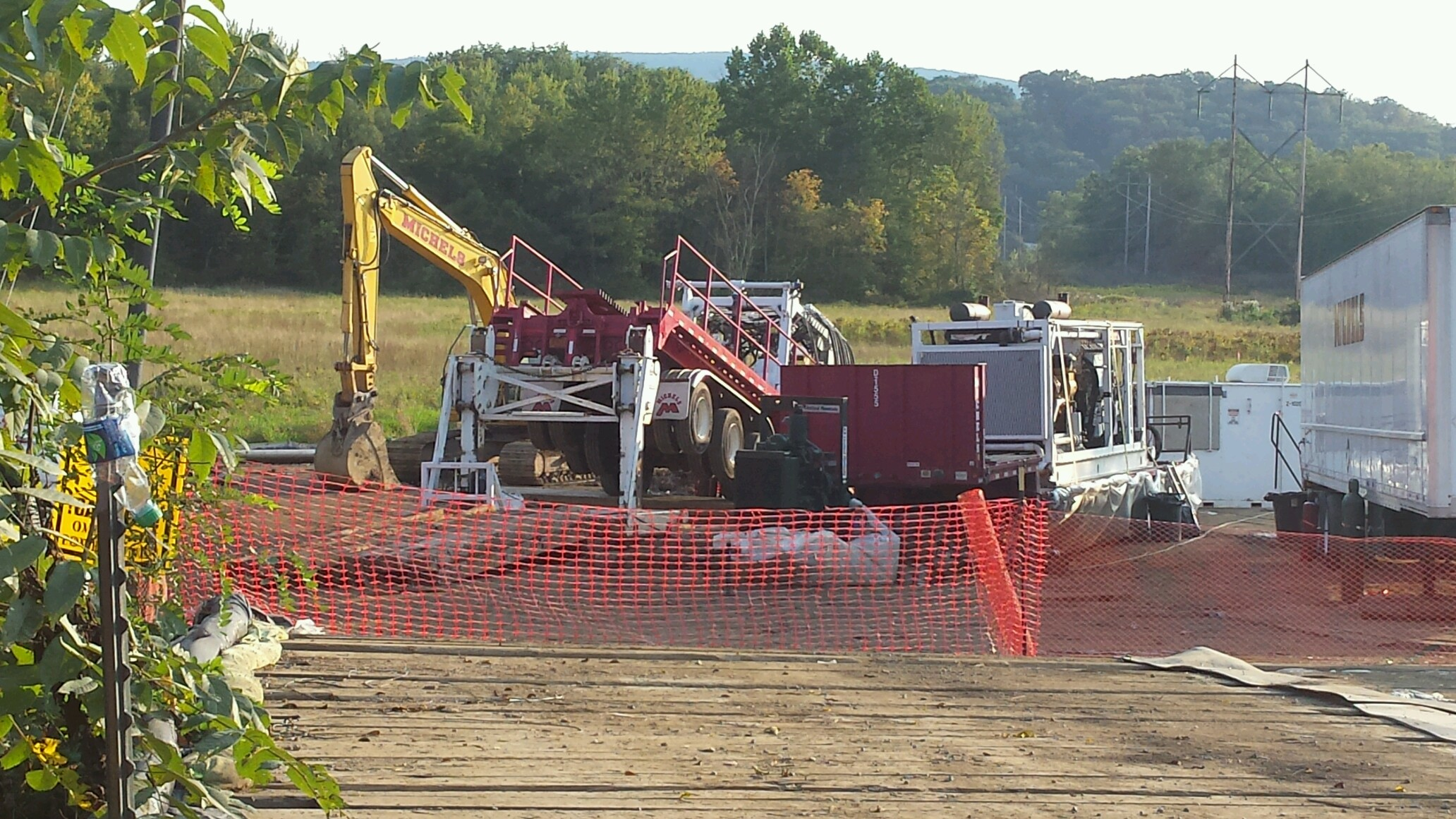 URGENT: Mariner East II Construction Crews Approaching Camp White Pine