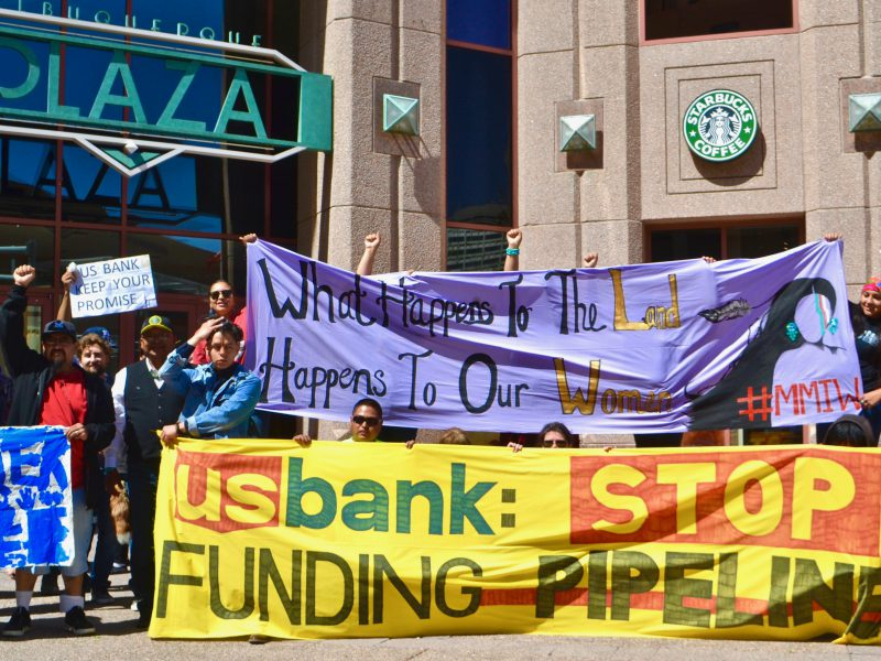 Pressure on US Bank Mounts with Actions at Shareholder Meeting in Albuquerque