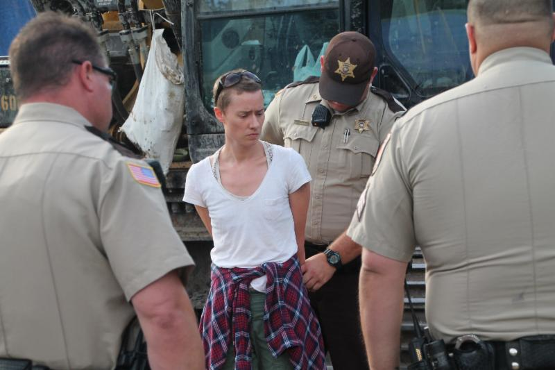 PRESS RELEASE: Louisiana Residents Arrested for Delivering Judge's Orders to Stop Bayou Bridge Construction